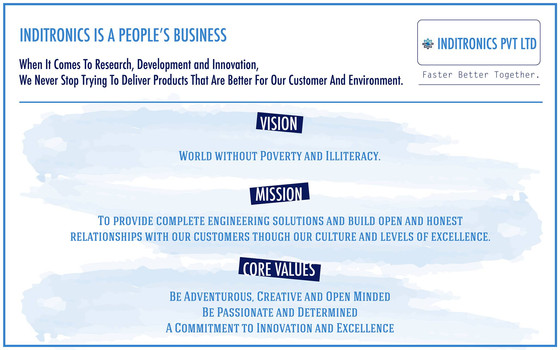 VISION, MISSION and CORE VALUES