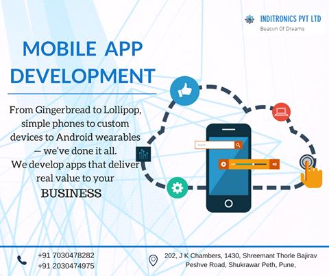 Mobile app development.