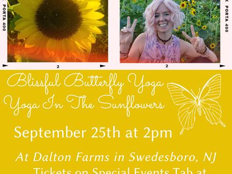 Sunflower Yoga!