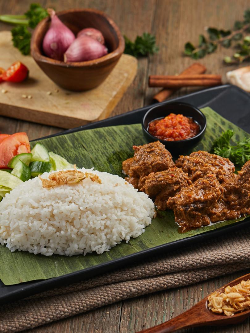 Beef Rendang Entree