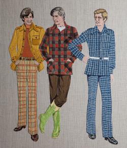 Mens' Shirt and Jacket Wardrobe