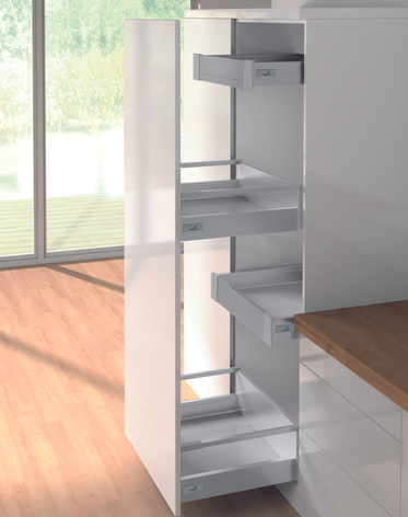 INTERNAL INDEPENDENT HIGH SIDED PULL OUT DRAWER