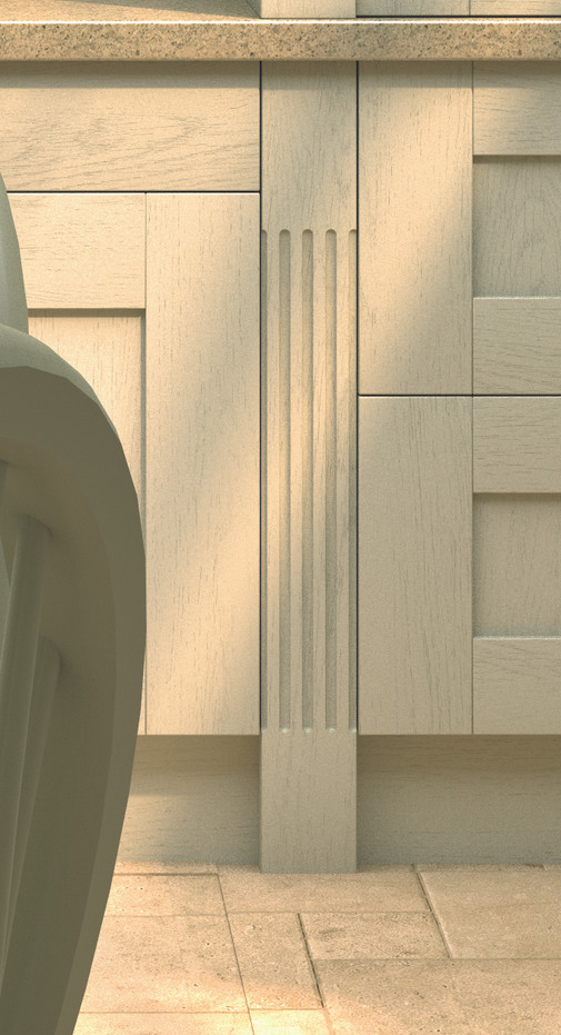 FLUTED PILASTER