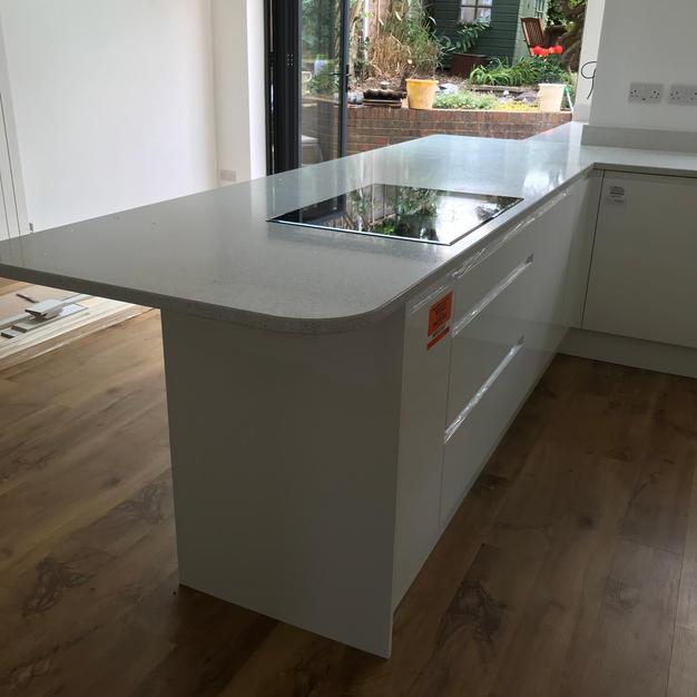 Mirror Quartz Worktop