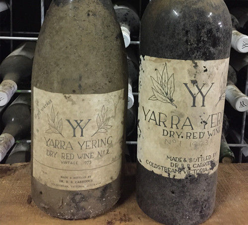 1973 Dry Red Wine No.1 & No.2
