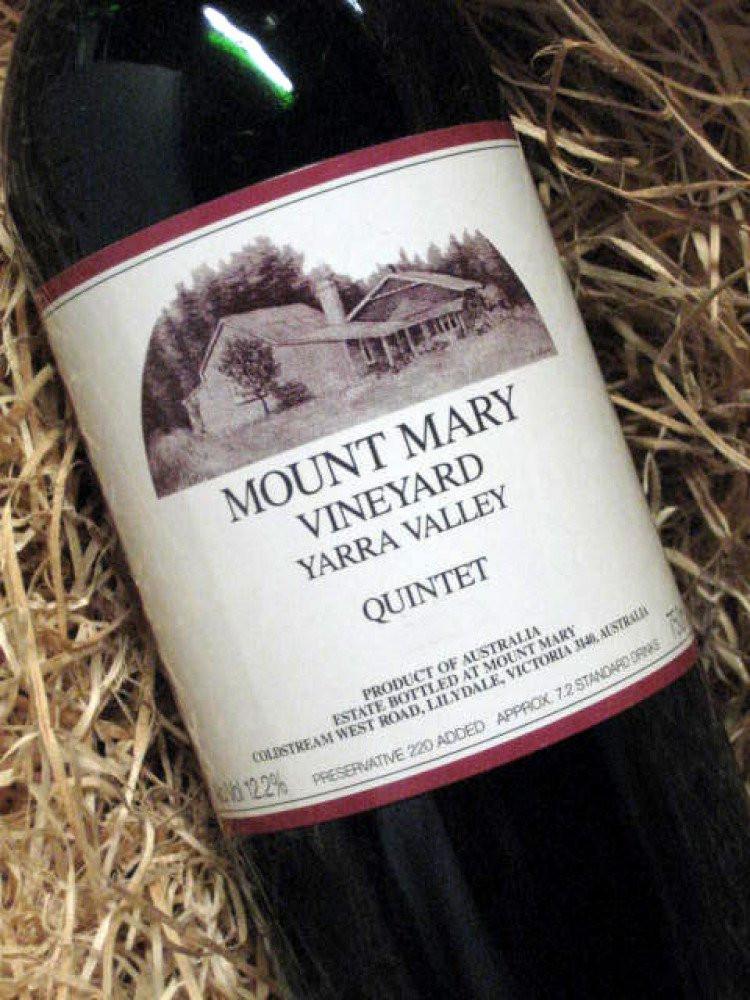 玛丽山酒庄五重奏(Mount Mary Quintet)