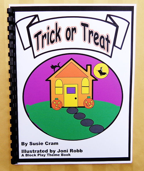 Block Play Theme Book: Trick or Treat
