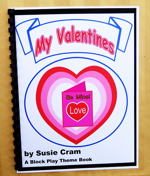 Block Play Theme Book: My Valentines