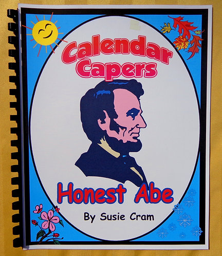 Calendar Capers Theme Book: Honest Abe