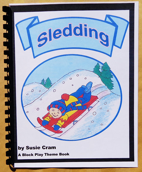 Block Play Theme Book: Sledding