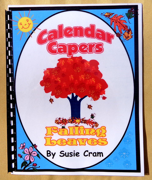 Calendar Theme Book: Falling Leaves
