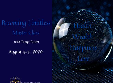 Becoming Limitless Master Class