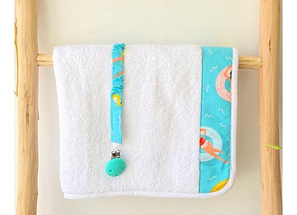 Drap de bain - Collection Les Petites Nageuses