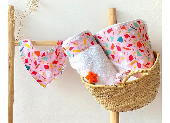 Drap de bain - Collection Baby Terrazzo