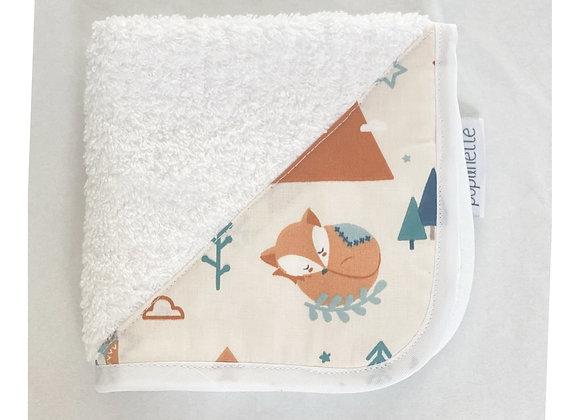 Serviette visage - Collection Baby Forest