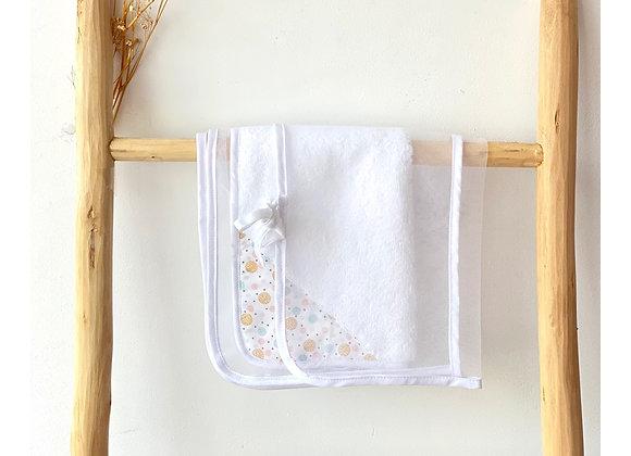 Housse bébé - Tulle blanc