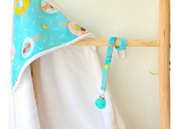 Cape de bain - Collection Les Petites Nageuses