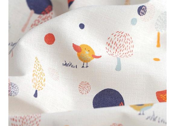 Serviette visage - Collection Le Chant des Oiseaux