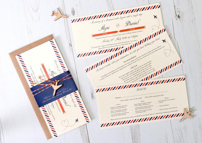 Taryn Payne - Live Laugh Create Wedding Stationery