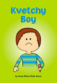 Kvetchy Boy Book