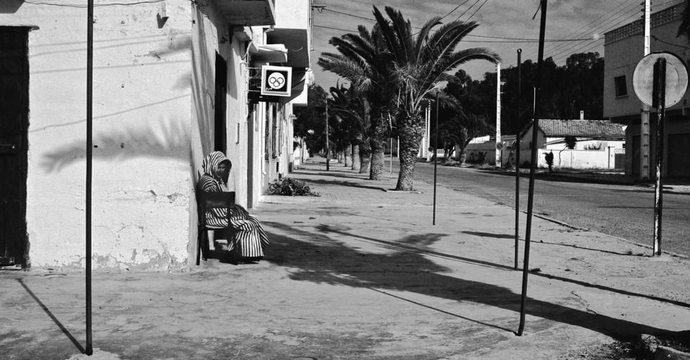Man sitting_Saidia, Morocco 1986