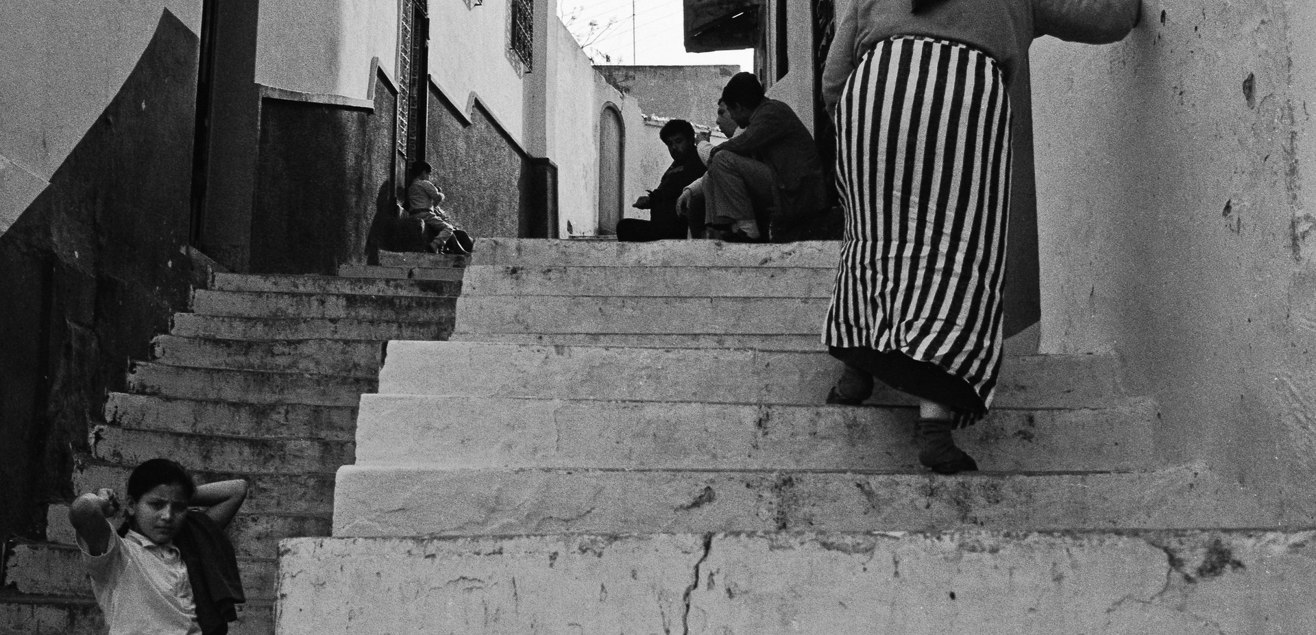 Locals_Tangier, Morocco 1986