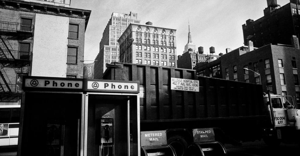 Manhatten, New York City, USA 1981