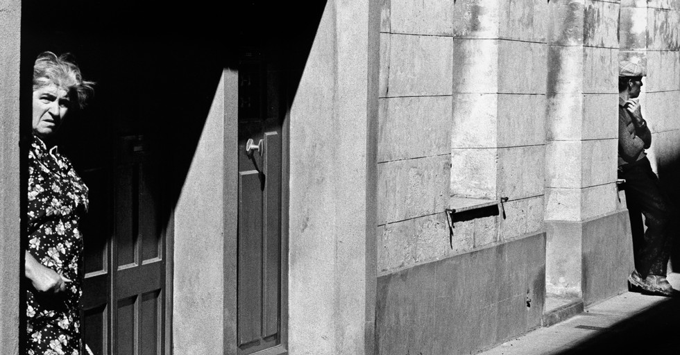 Locals_Beaucaire, France 1978