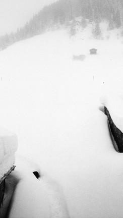Mountain snow_Panix, Switzerland 1987