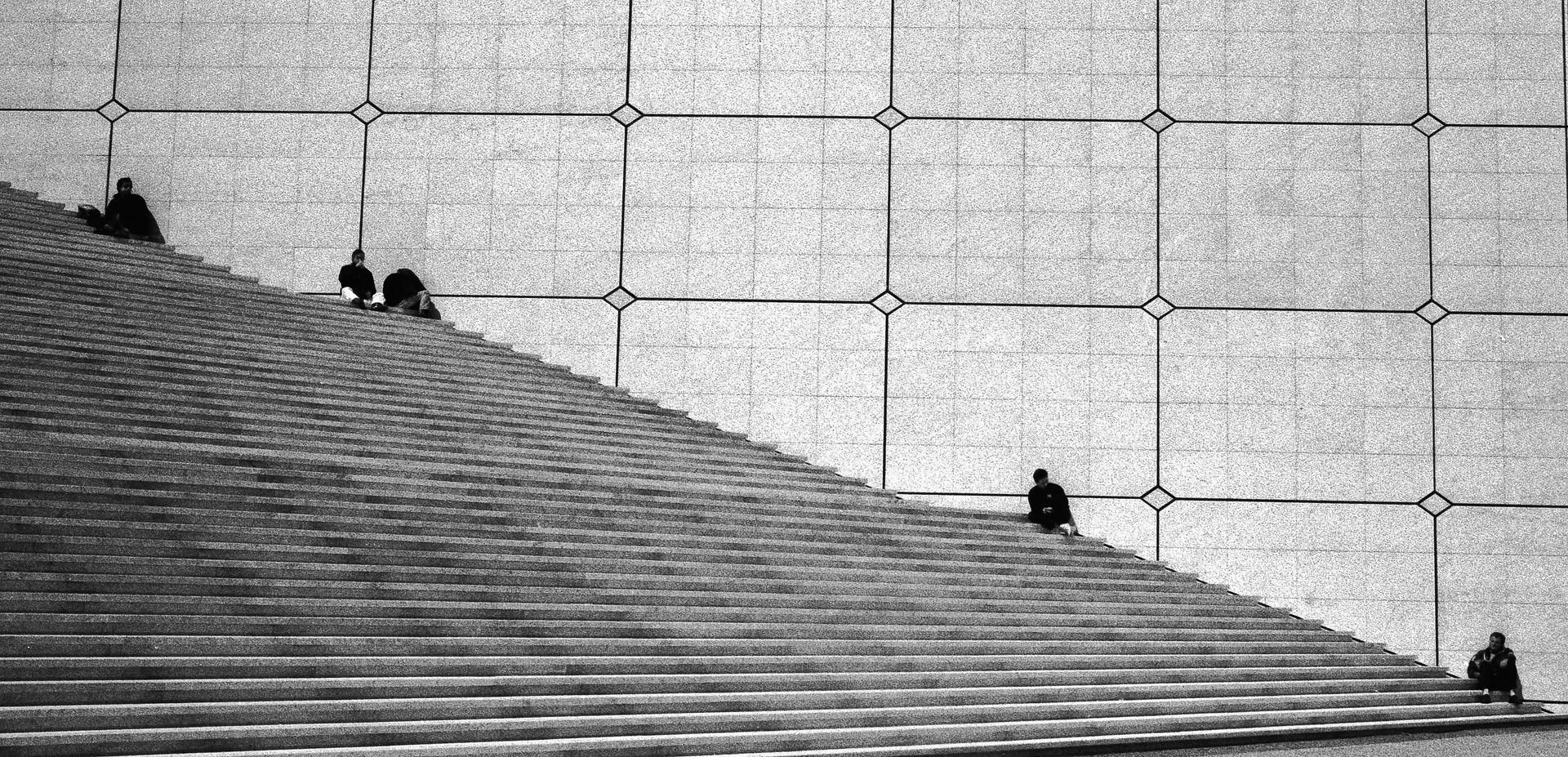 L'Arche_Paris, France 1991