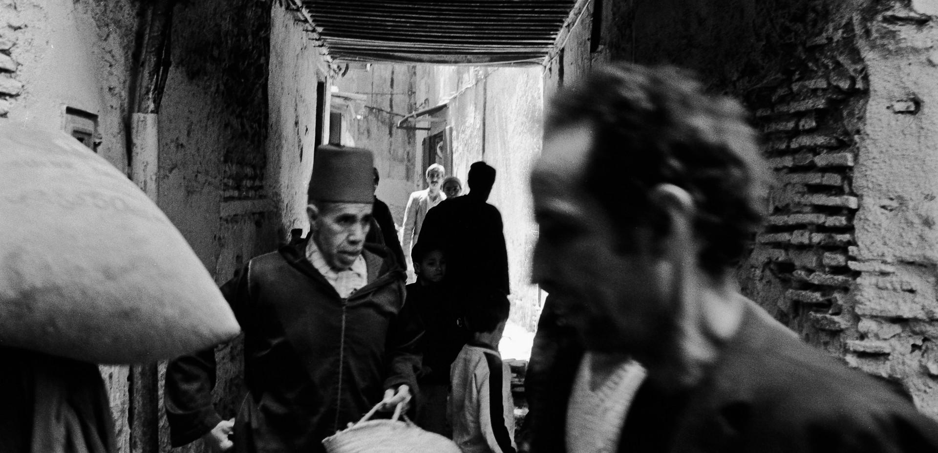 Street scene_Fez, Morocco 1986