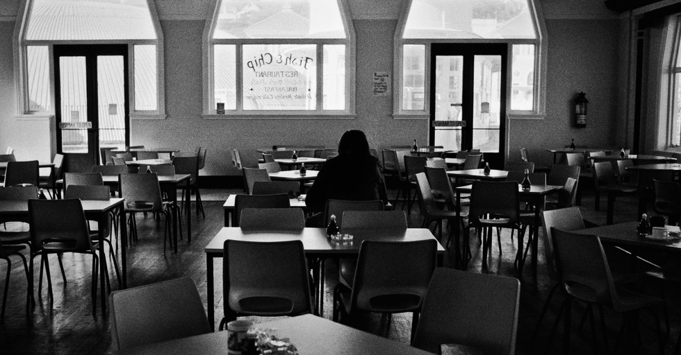 Cafe_ Hastings, England 1985