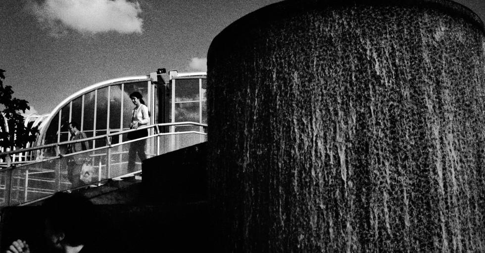 Water Sculpture_Paris, France 1983