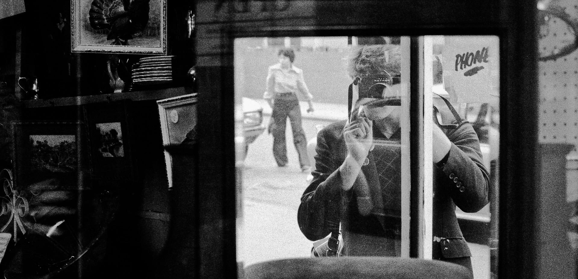 Selfie_London, England 1979