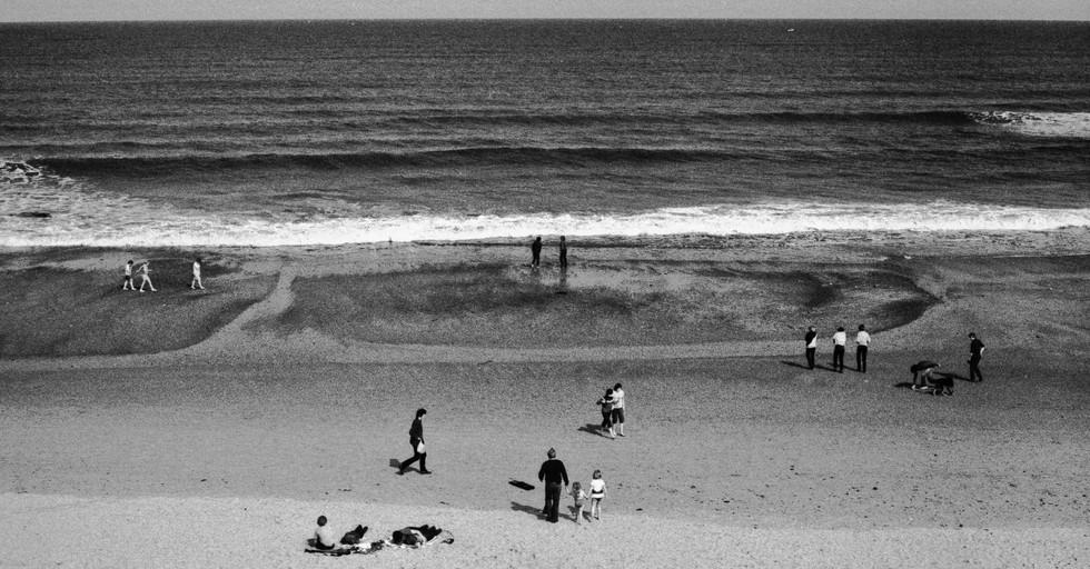 Beach & Sea_Whitley Bay, England 1982