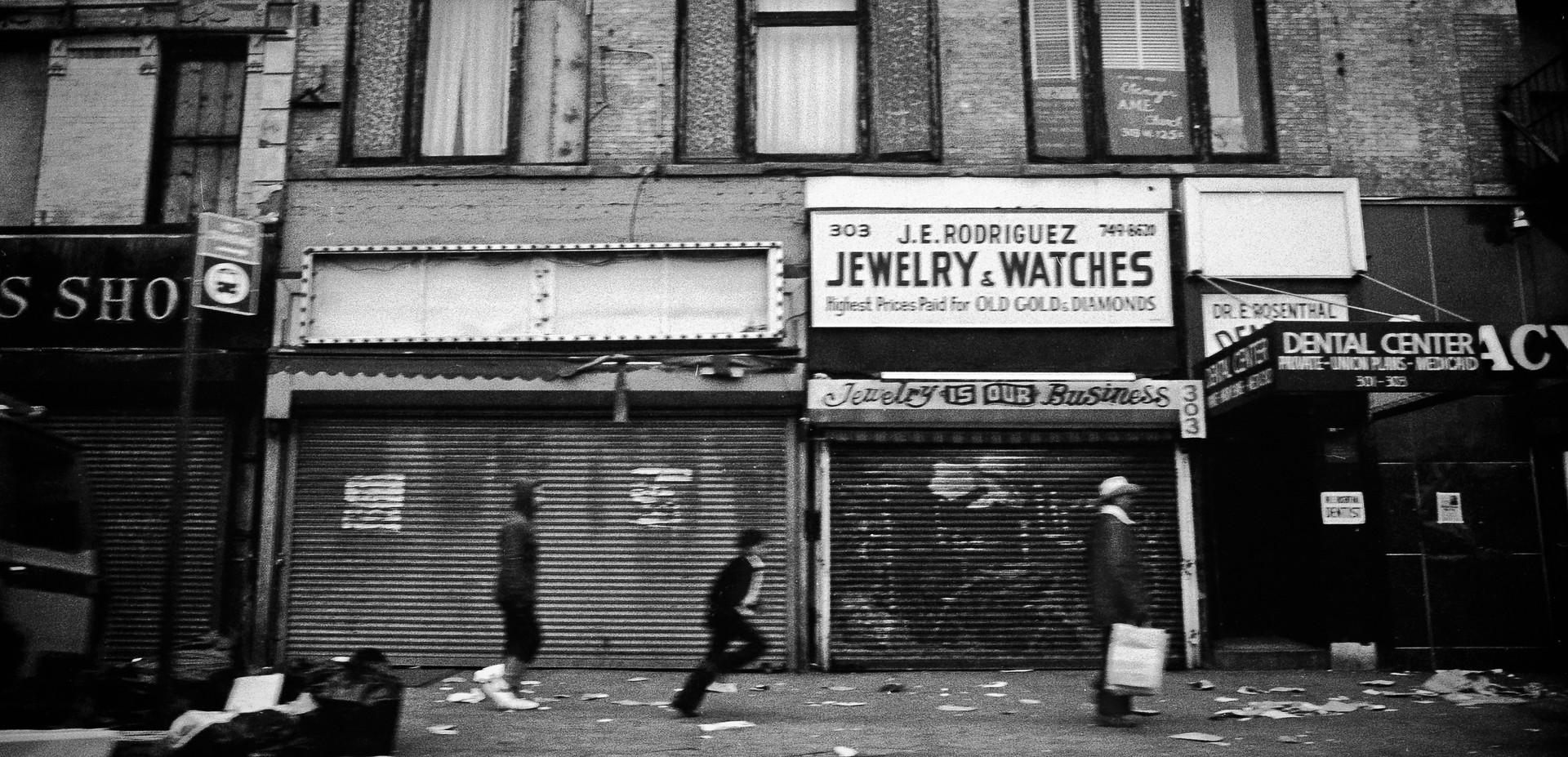 Harlem_New York City, USA 1982