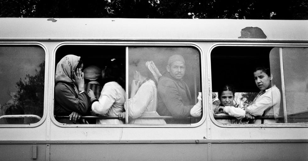 Bus_Marrakesh, Morocco 1986