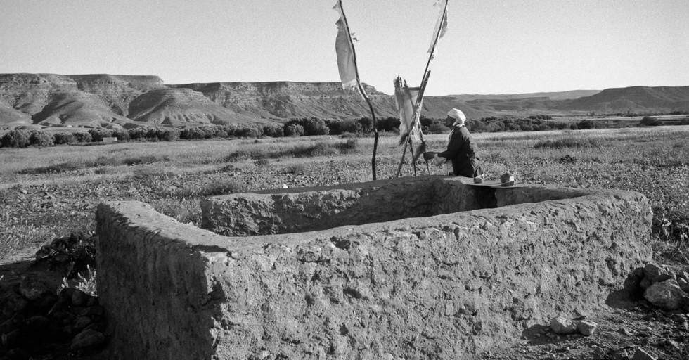 Sheep pan_Near Oujda, Morocco 1986