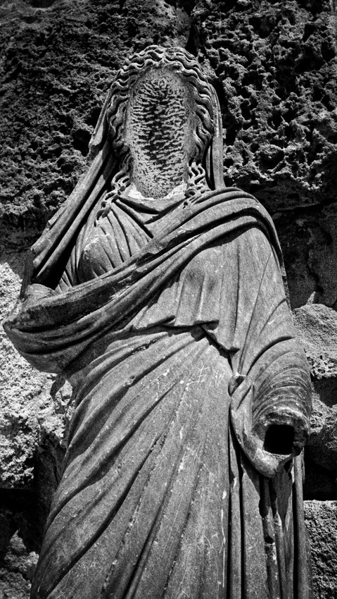 Statue_Salmis, Northern Cyprus 1990