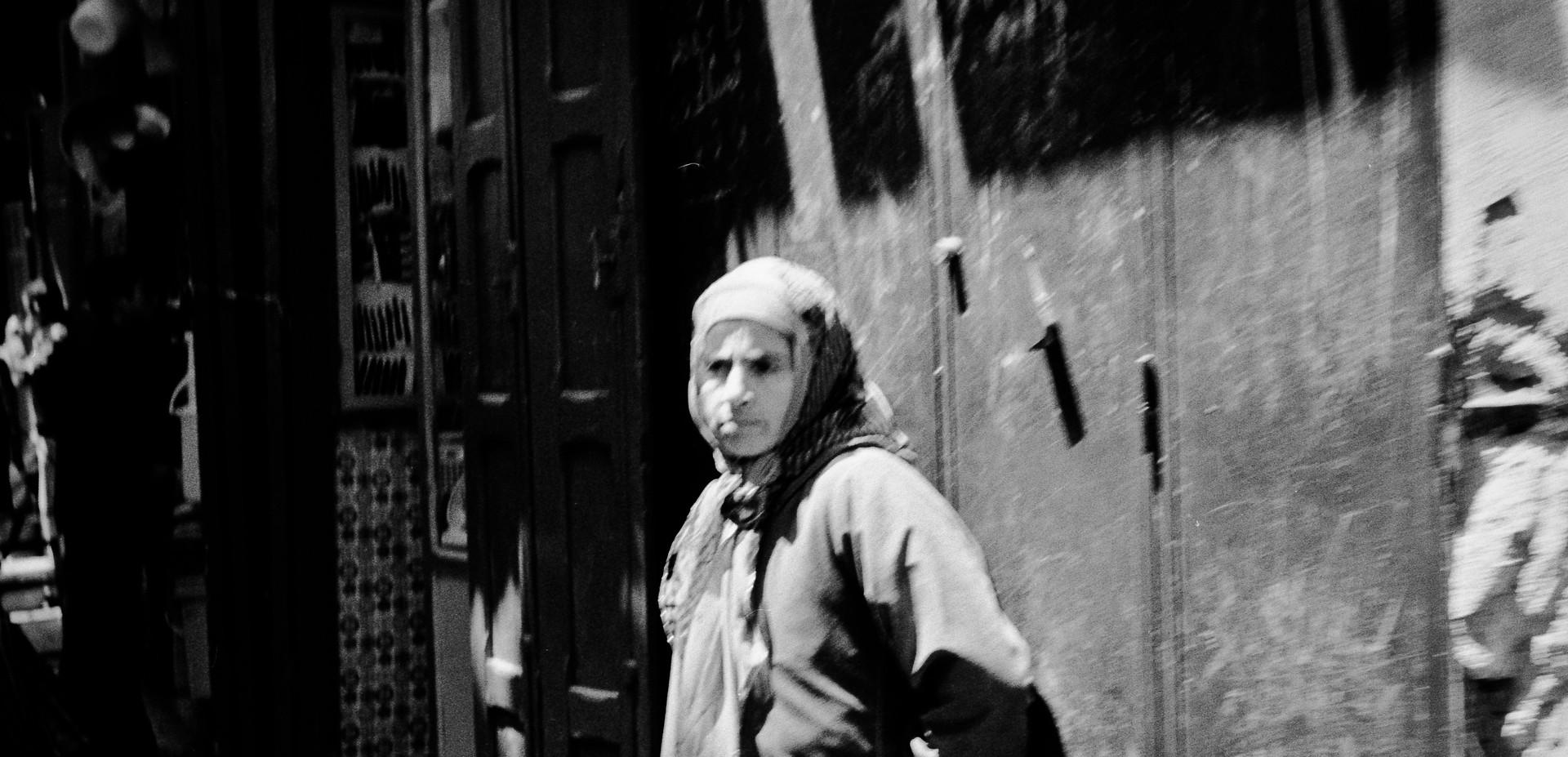 Woman_Fez, Morocco 1986