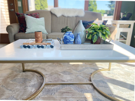 How to Style Your Coffee Table