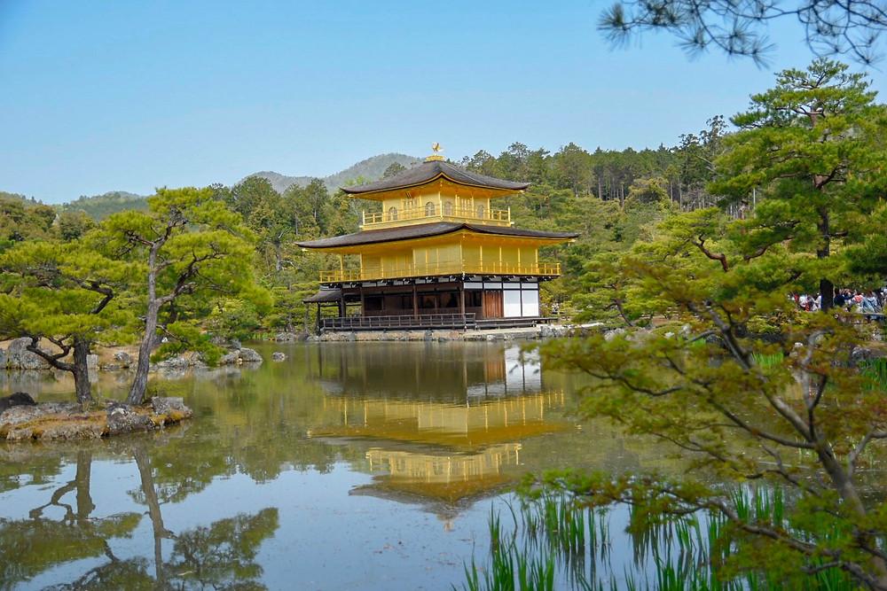 קיוטו, מקדש, יפן, מקדש הזהב, המקדש המוזהב, טוקיו