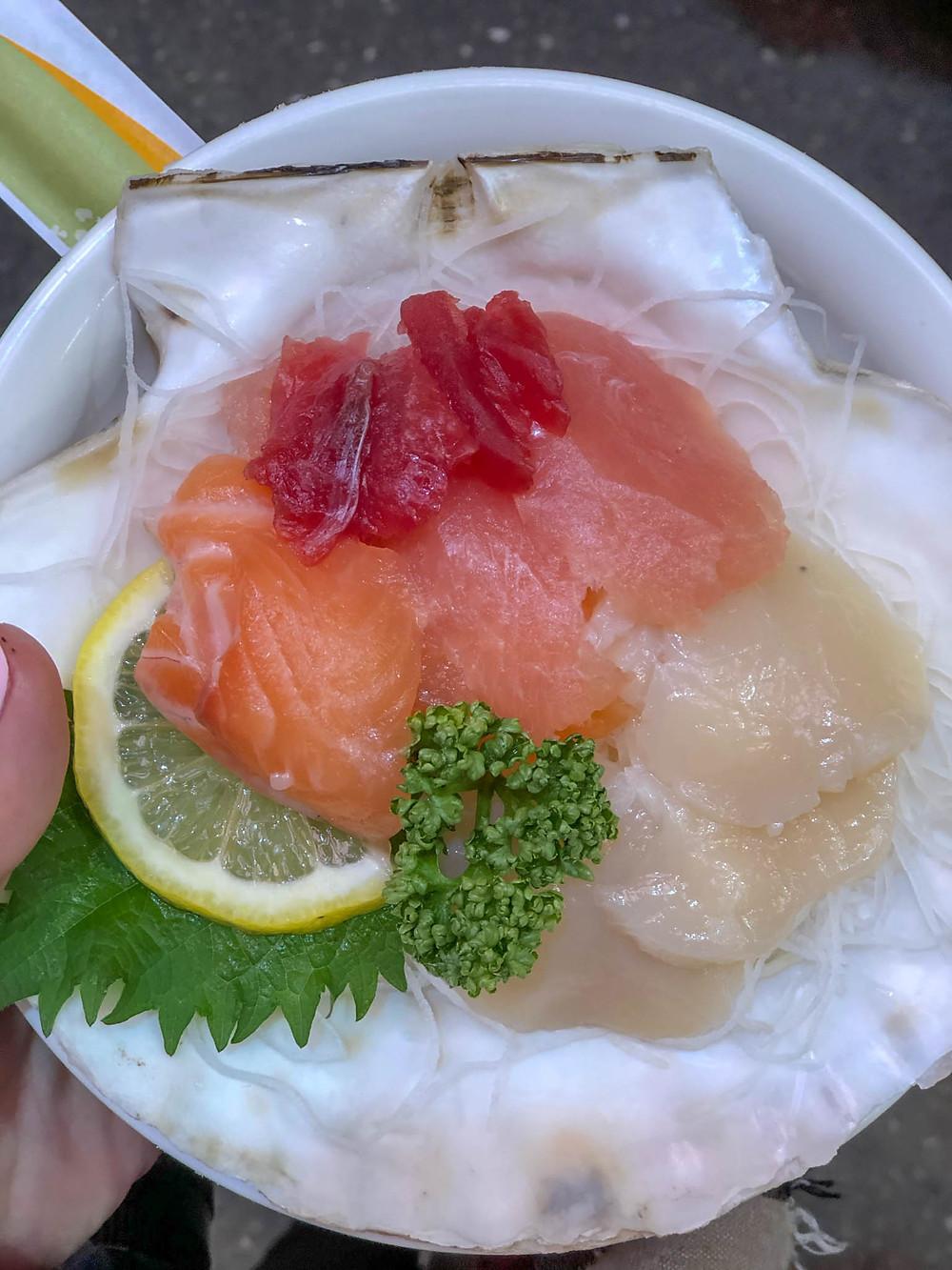 סשימי, סושי, יפן, דגים, טוקיו