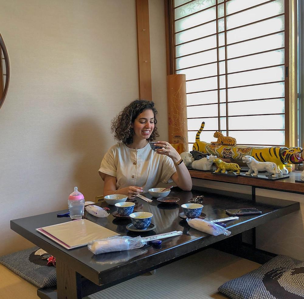 סושי צמחוני בהריון, סושי בהריון, סושי ביפן, טיול ליפן
