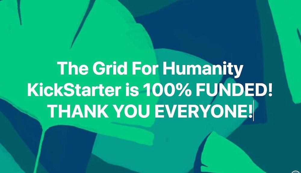 Kickstarter 100% Funded!