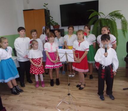 Vystúpenie žiakov zo ZŠ Komenského vMedzilaborciach