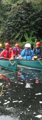 kayaking river