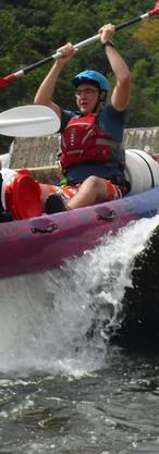 Kayaking overseas