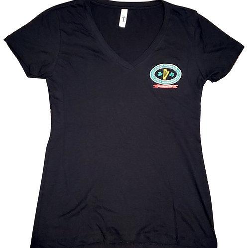 Women's V Neck T Shirt XXL