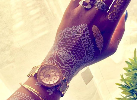 "Bridal Henna is Taking Over Instagram ""vogue magazine"""